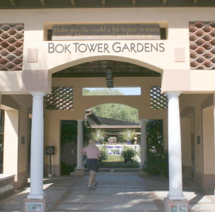 Bok Tower Garden Entrance